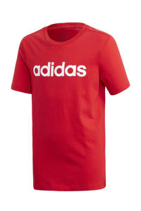 adidas Performance   sport T-shirt rood/wit, Rood/wit