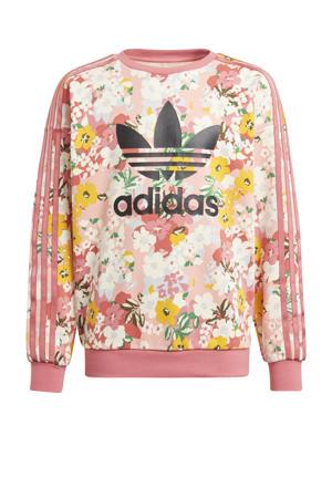 sweater roze/zwart