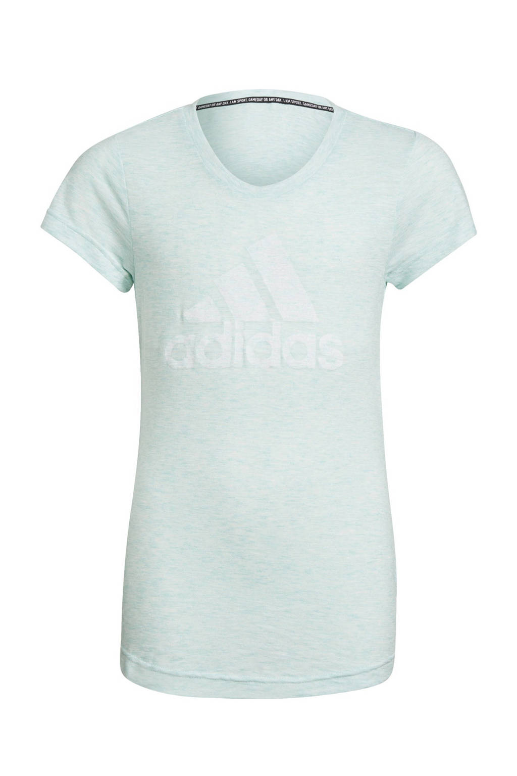adidas Performance Girls In Power sport T-shirt mintgroen, Mintgroen