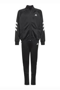 adidas Performance   XFG trainingspak zwart/wit, Zwart/wit