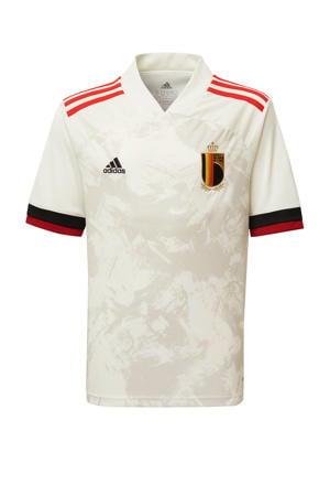 Junior België uit voetbal T-shirt ecru