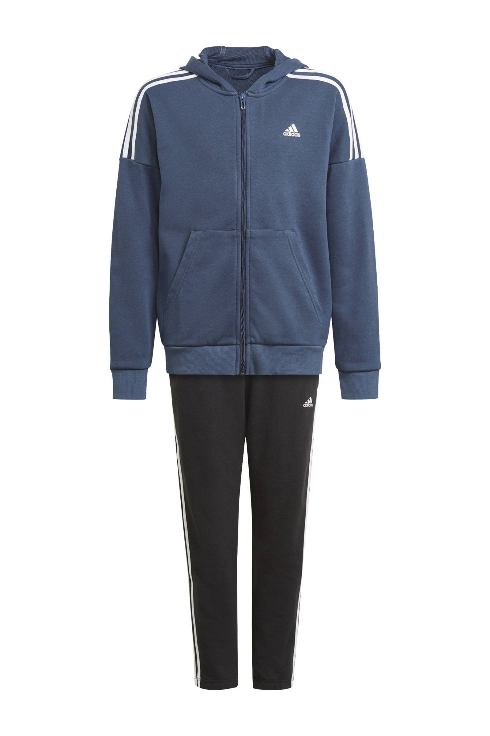 Adidas Performance trainingspak donkerblauw/zwart online kopen