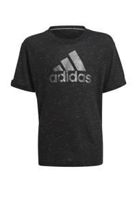 adidas Performance Future Icons sport T-shirt zwart, Zwart