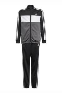 adidas Performance   Tiberio trainingspak zwart/wit, Zwart/wit