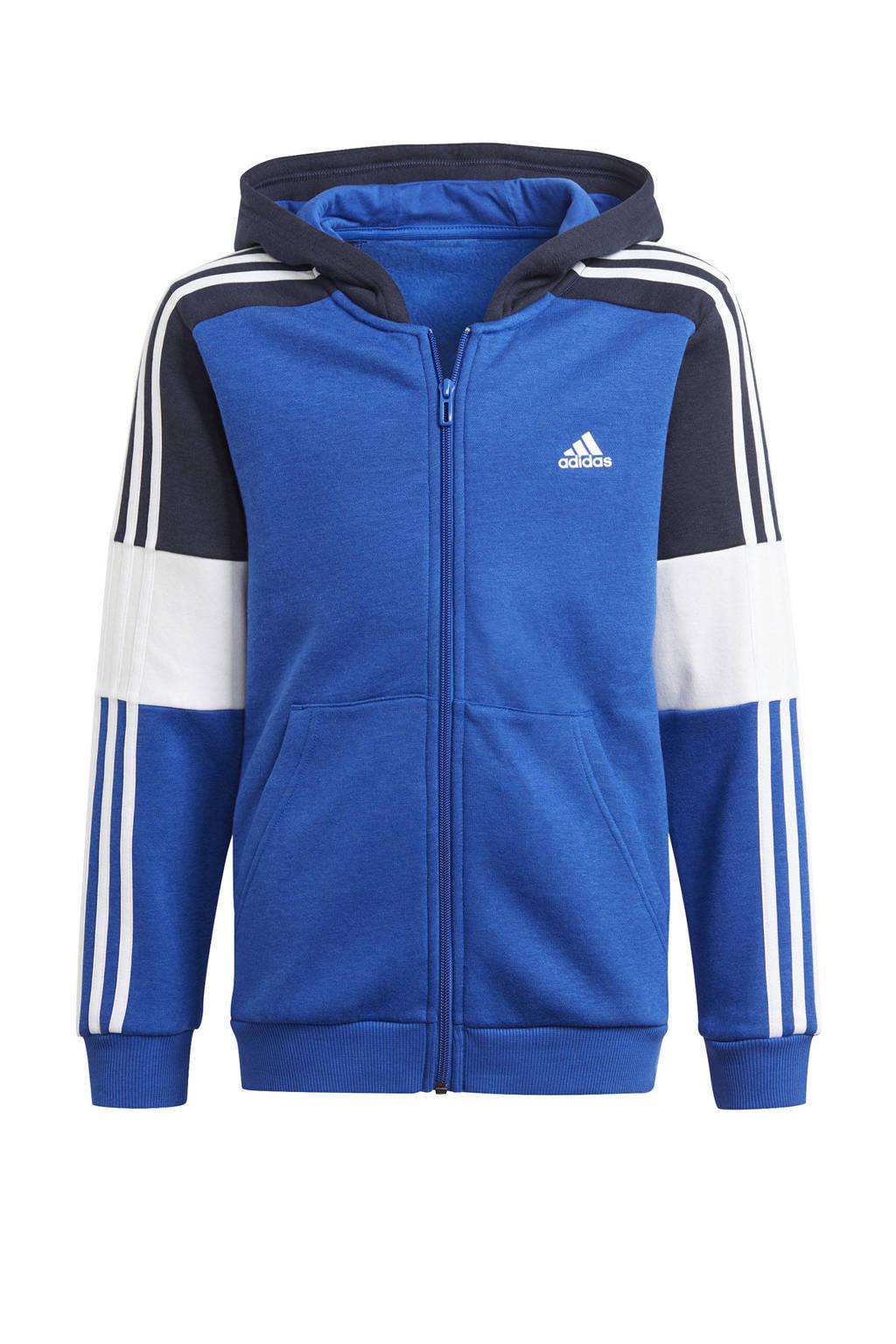 adidas Performance   sportvest kobaltblauw/donkerblauw/wit