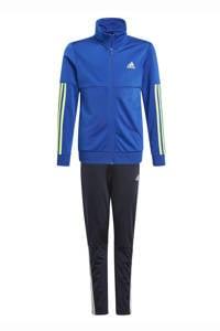adidas Performance   trainingspak blauw/zwart/geel, kobaltblauw/geel/zwart