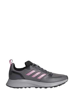 Runfalcon 2.0 Trail hardloopschoenen grijs/roze