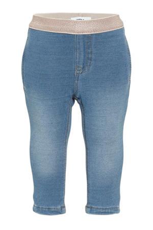 baby skinny jeans medium blue denim