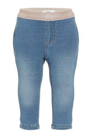 baby skinny jeans medium blue denim