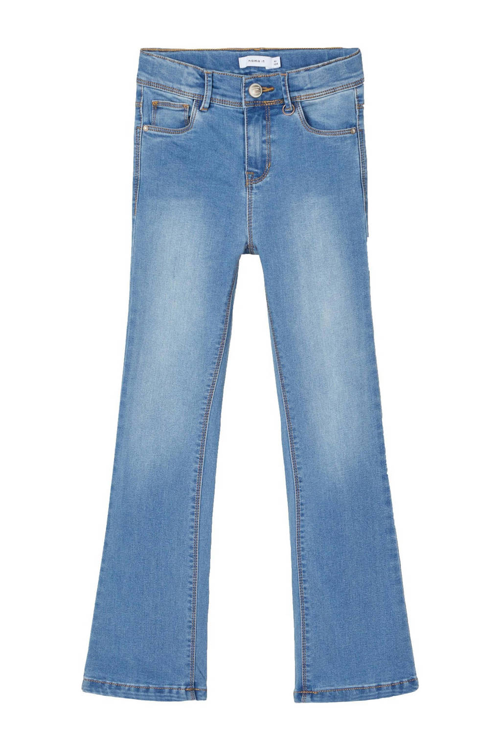 NAME IT KIDS bootcut jeans NKFPOLLY medium blue denim, Medium blue denim