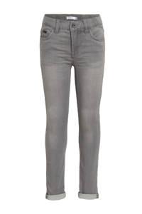 NAME IT KIDS slim fit jeans Theo grijs, Grijs
