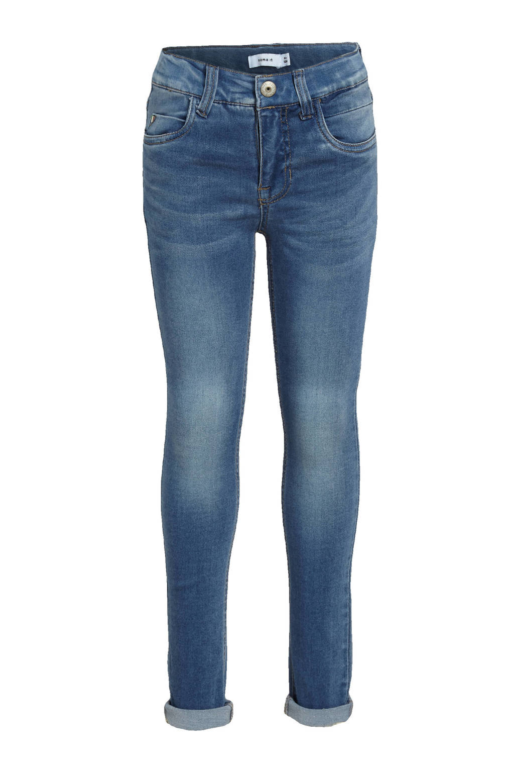 NAME IT KIDS slim fit jeans Theo stonewashed, Stonewashed