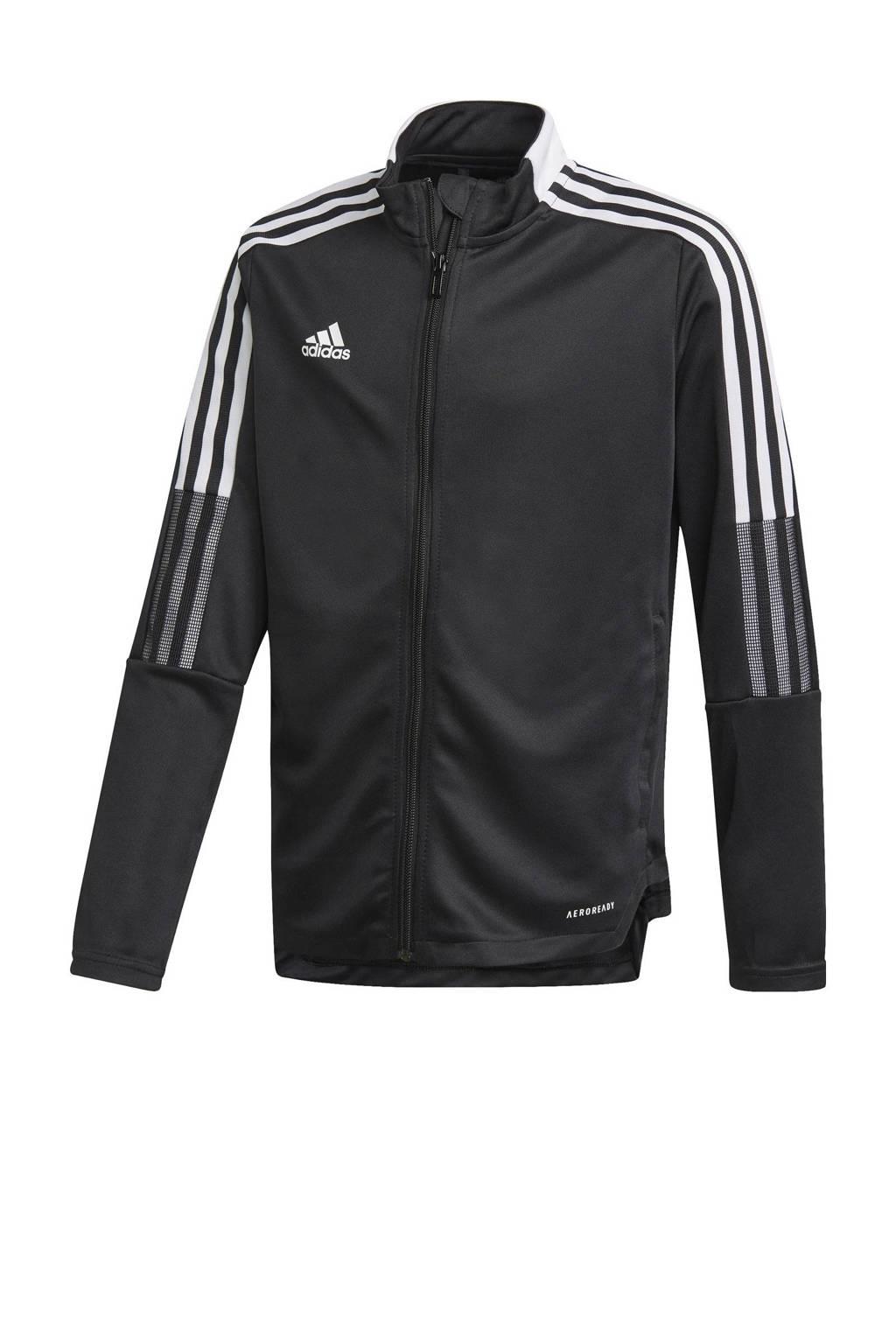 adidas Performance   Tiro 21 voetbalvest zwart, Zwart