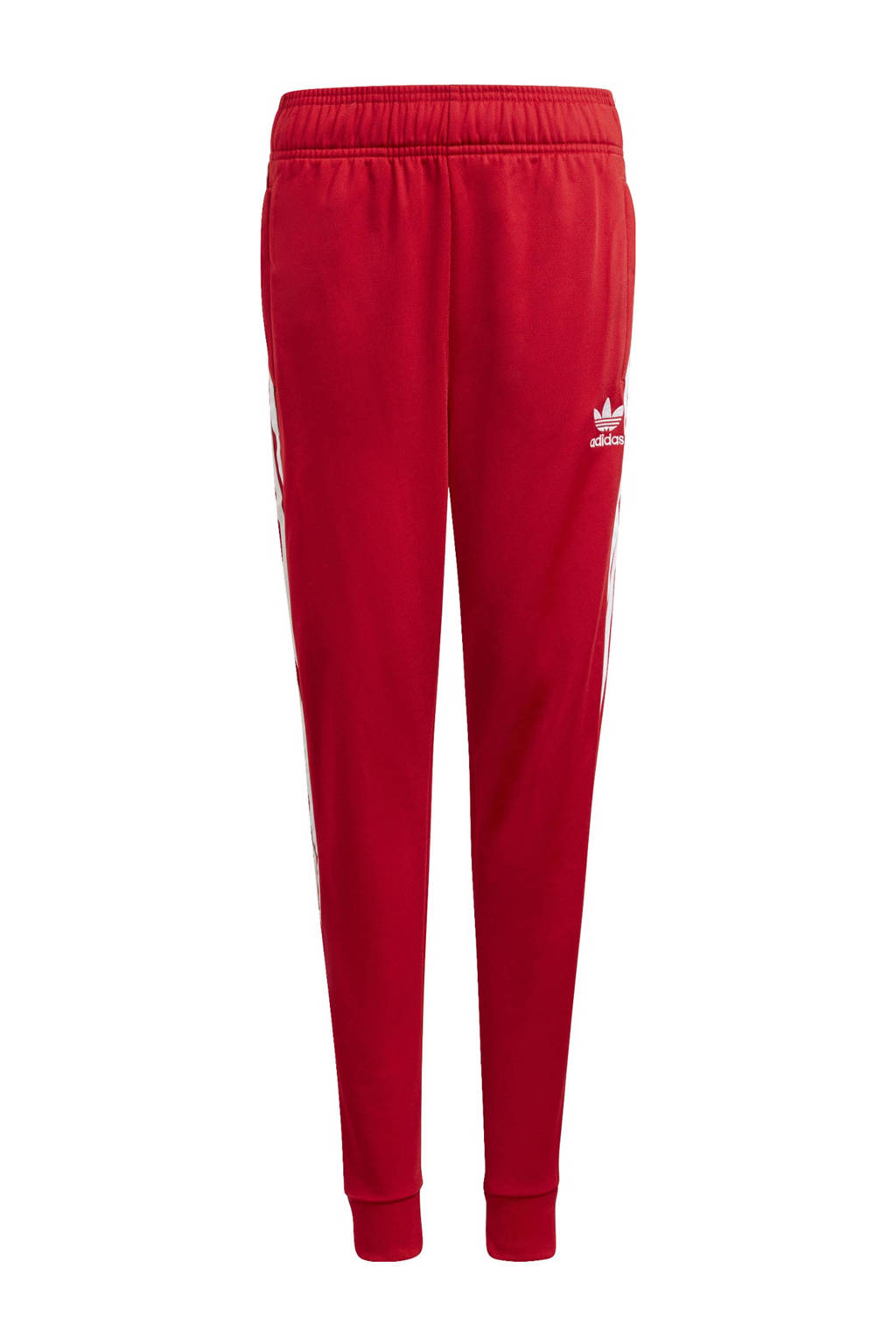 adidas Originals Superstar Adicolor joggingbroek rood/wit, Rood/wit