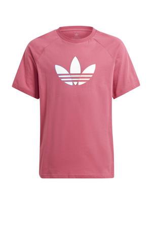 Adicolor T-shirt roze