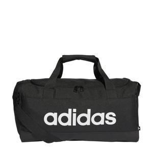 sporttas Linear Duffel S zwart/wit