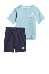 adidas Performance   sportset lichtblauw/donkerblauw, Lichtblauw/donkerblauw