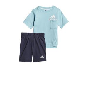 sportset lichtblauw/donkerblauw