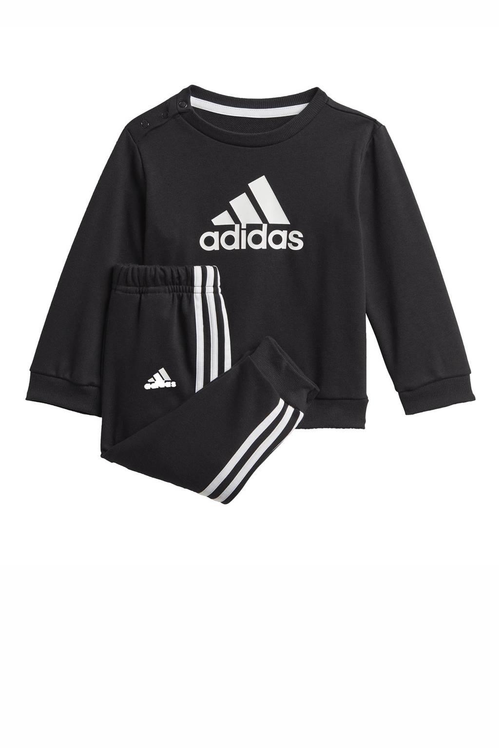 adidas Performance   joggingpak zwart/wit, Zwart/wit