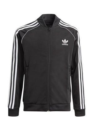 unisex Superstar Adicolor vest zwart/wit