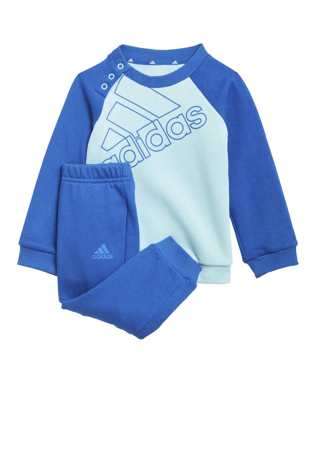 adidas Performance   joggingpak lichtblauw/blauw, Lichtblauw/blauw