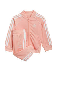 adidas Originals   Superstar Adicolor trainingspak lichtroze/wit, Lichtroze/wit