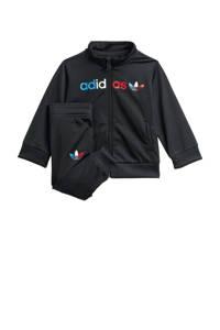 adidas Originals   Adicolor trainingspak zwart, Zwart