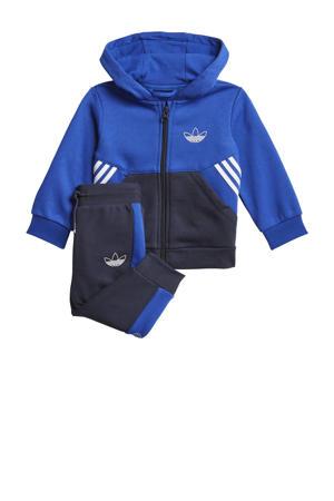 Adicolor trainingspak blauw/donkerblauw