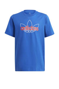adidas Originals Adicolor T-shirt blauw, Blauw