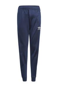 adidas Originals unisex Superstar Adicolor joggingbroek donkerblauw/wit, Donkerblauw/wit