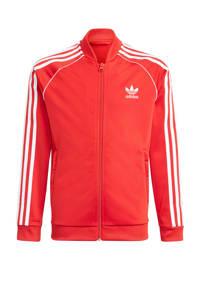 adidas Originals Superstar Adicolor vest rood/wit, Rood/wit