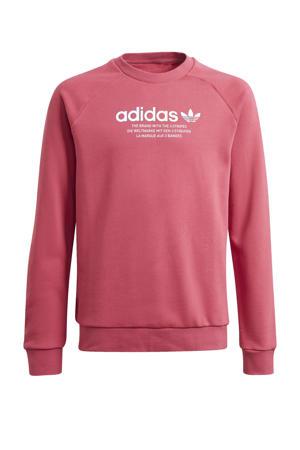 Adicolor sweater roze