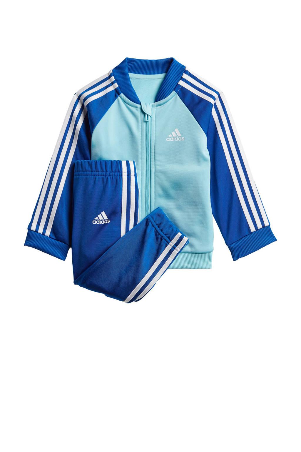 adidas Performance   trainingspak lichtblauw/wit/kobaltblauw