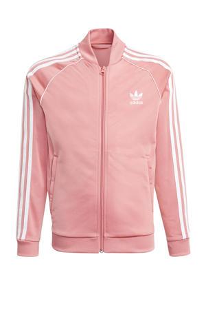 Superstar Adicolor vest lichtroze/wit