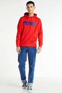 Petrol Industries hoodie met logo rood, Rood