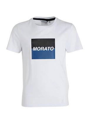 T-shirt met logo wit
