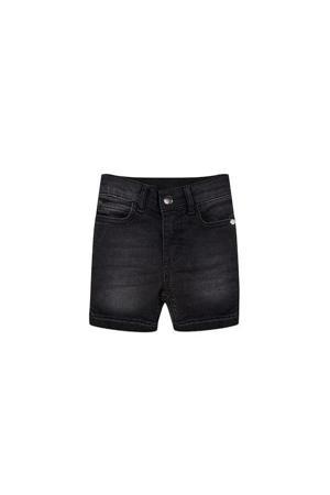 regular fit jeans bermuda Denim Short antraciet
