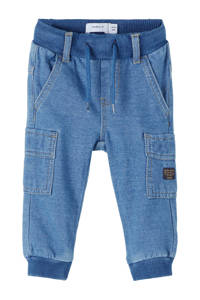 NAME IT BABY baby broek Romeo medium blue denim, Medium blue denim