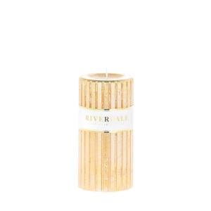 kaars Venetian goud 7x14cm