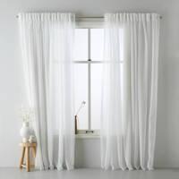 Wehkamp Home vitrage kant en klaar transparant gordijn (per stuk) (150 x 315 cm), Off-White
