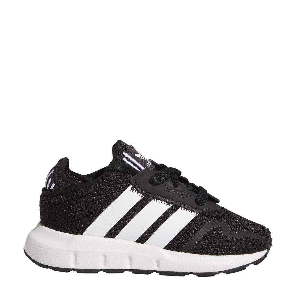 adidas Originals Swift Run  sneakers zwart/wit, Zwart/wit