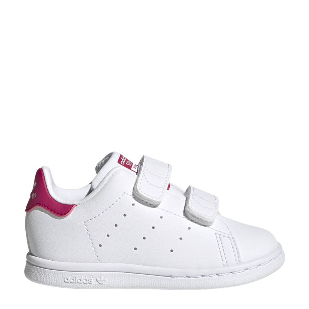 adidas Originals Stan Smith  sneakers wit/roze, Wit/roze