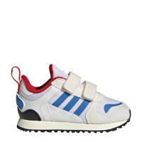 adidas Originals Zx 700  sneakers wit/blauw/rood, Wit/blauw/rood