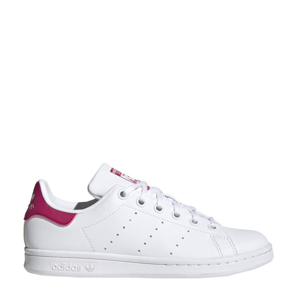 adidas Originals Stan Smith Vegan sneakers wit/roze, Wit/roze