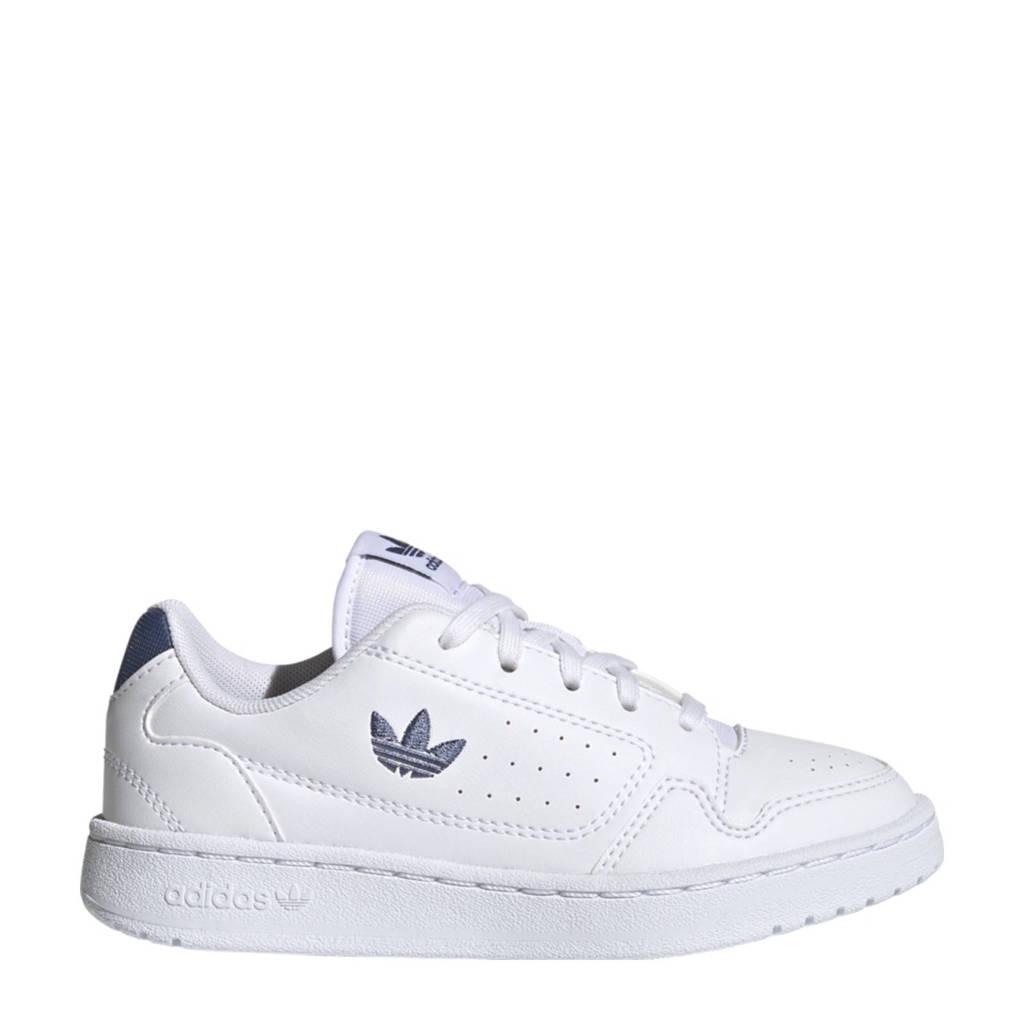 adidas Originals NY 92  sneakers wit/blauw, Wit/blauw