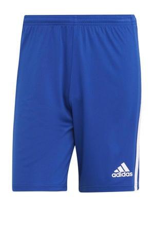 Squadra 21 voetbalshort kobaltblauw/wit