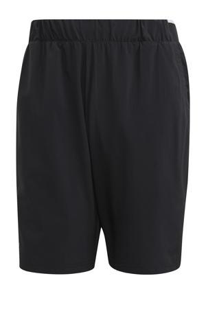 tennisshort zwart/wit