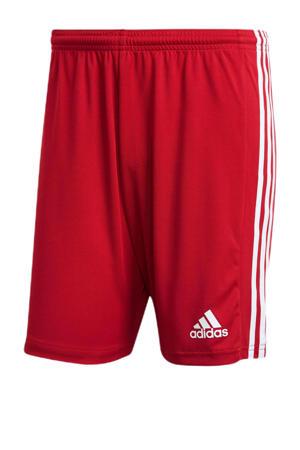 Squadra 21 voetbalshort rood/wit