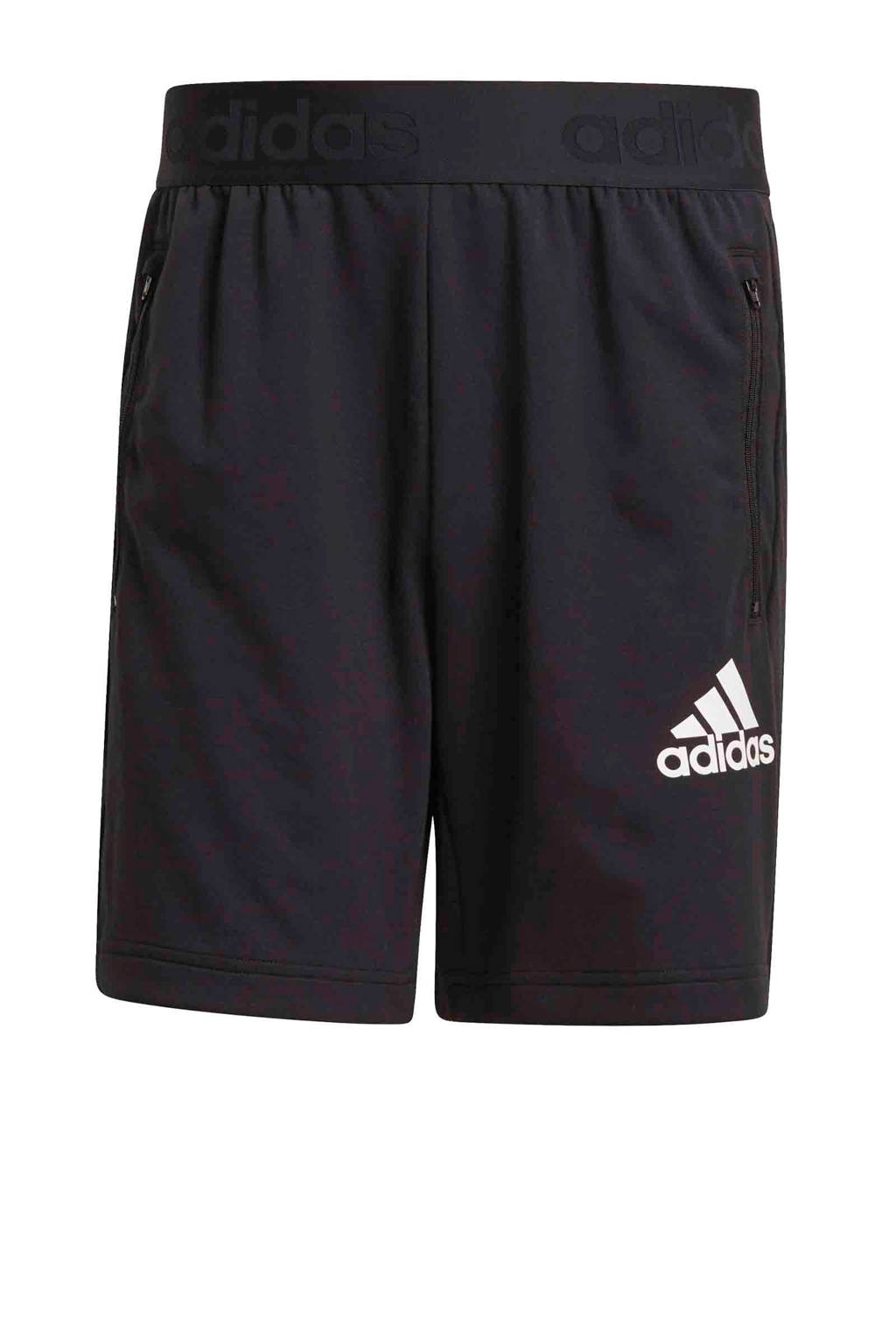 adidas Performance   Designed2Move sportshort zwart, Zwart