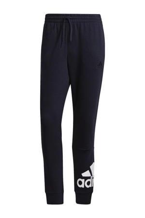 sportbroek donkerblauw/wit